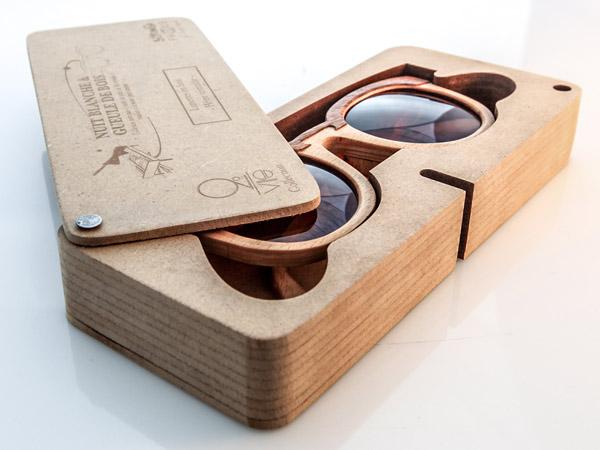 coffret lunettes 2nd VIE recyclé