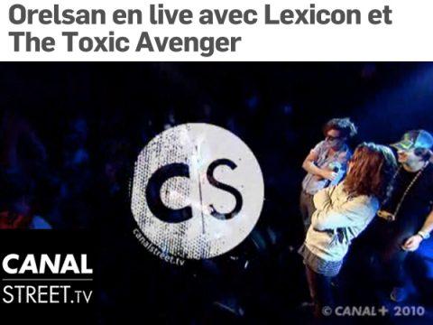 LEXICON & ORELSAN – CANAL STREET sur canal+