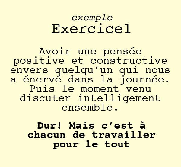visu exercice