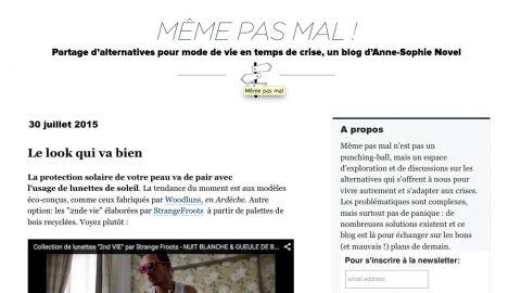 Strange Froots dans Alternative.blog.LEMONDE.fr – Anne Sophie Novel