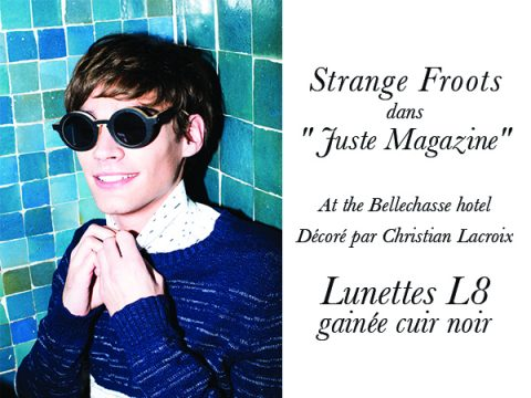 Strange Froots dans «Juste Magazine»