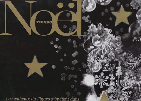 FIGARO spécial Noël – masque de ski Zéphyr by Strange Froots