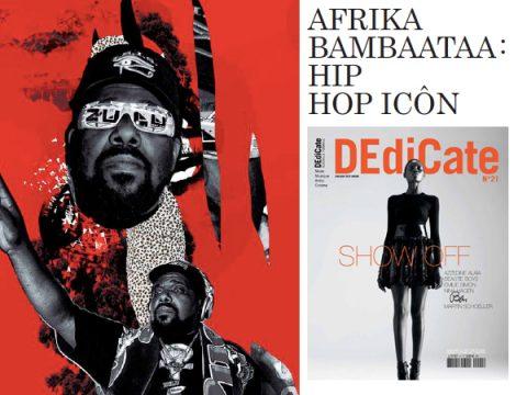 AFRIKA BAMBAATAA – DEDICATE MAGAZINE N°21