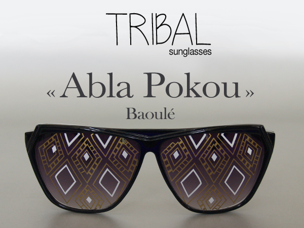 abla Pokou tribal 1 lunettes strange froots