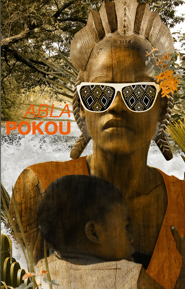 Abla Pokou tribal2 lunettes strange froots abla poku
