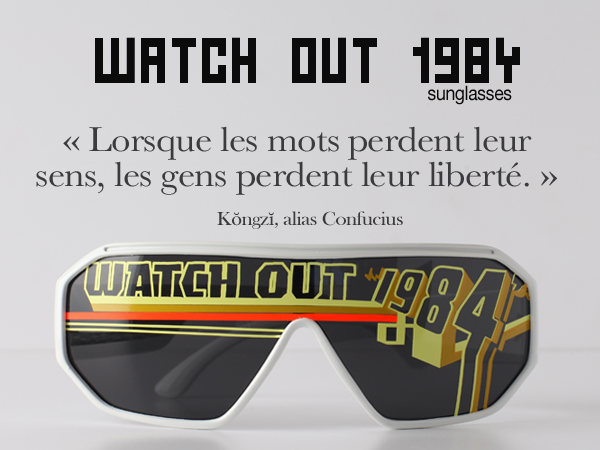 lunettes strange froots  watchout 1984