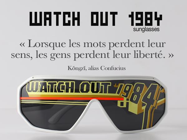 lunettes strange froots  watchout 1984
