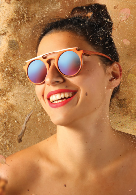 STRANGE FROOTS lunette HYLÉ fait main piece unique