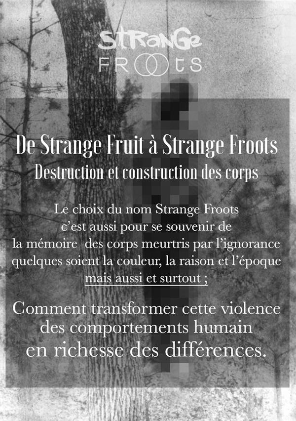 La Gazette Strange froots - de strange fruits à Strange Froots