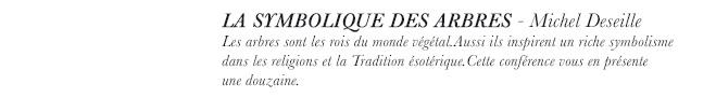 strange froots - La gazette - Michel Deseille - La Symbolique des arbres